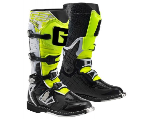 Gaerne G-React Goodyear White Black Yellow 2180-019